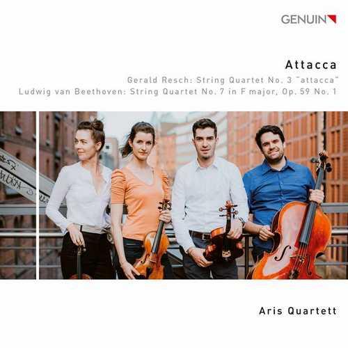Aris Quartett: Resch - String Quartet no.3, Beethoven - String Quartet no.7 op.59 no.1 (24/96 FLAC)