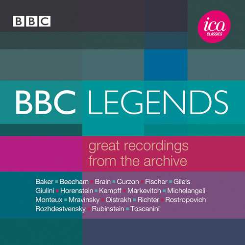 BBC Legends: Great Recordings from the Archive (FLAC)