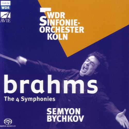 Semyon Bychkov: Brahms - The 4 Symphonies (FLAC)