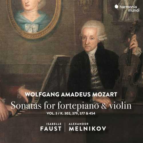Faust, Melnikov: Mozart - Sonatas for Fortepiano & Violin vol.3 (24/96 FLAC)