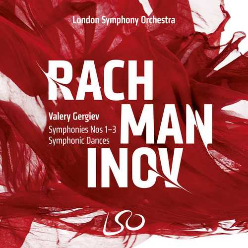 Gergiev: Rachmaninov - Symphonies no.1-3, Symphonic Dances (24/96 FLAC)