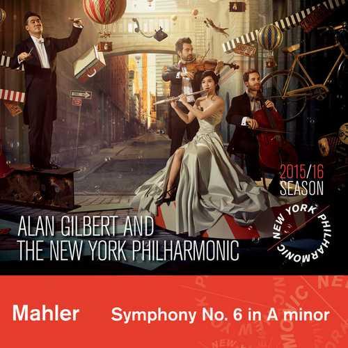 Gilbert: Mahler - Symphony no.6 (24/44 FLAC)