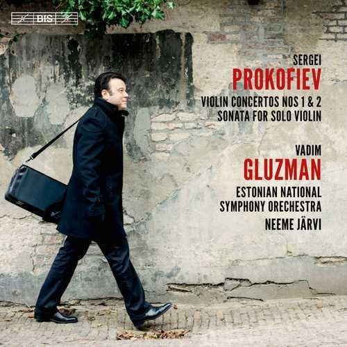 Gluzman, Järvi: Prokofiev - Violin Concertos no.1 & 2, Sonata for Solo Violin (24/96 FLAC)