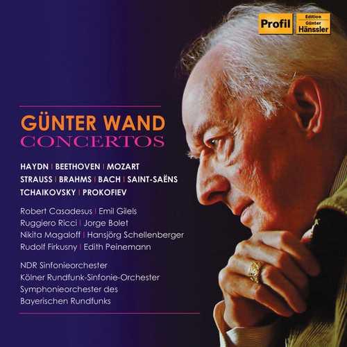 Günter Wand Concertos (FLAC)