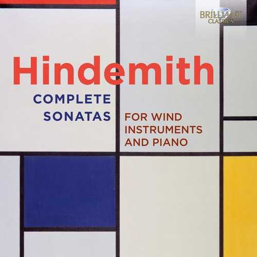 Hindemith - Complete Sonatas for Wind Instruments and Piano (FLAC)