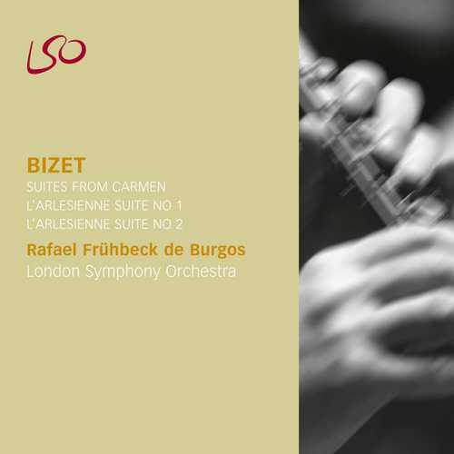 Burgos: Bizet - Suite from Carmen, L'Arlésienne Suites (FLAC)