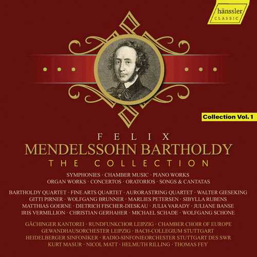 Mendelssohn: The Collection vol.1 (FLAC)