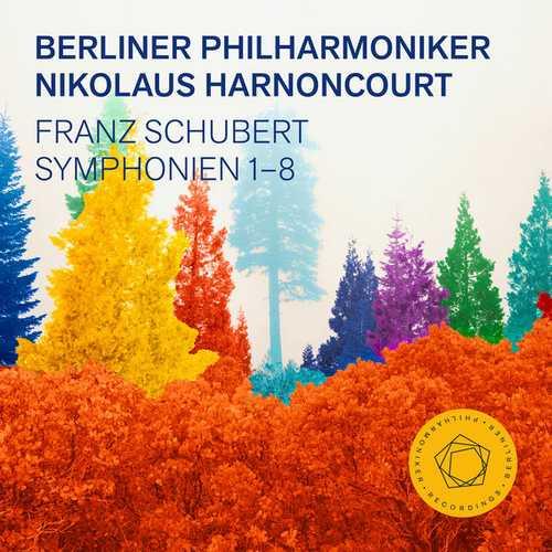 Berliner Philharmoniker, Nikolaus Harnoncourt: Schubert - Symphonies 1-8 (24/48 FLAC)