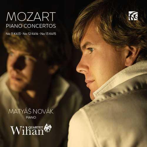 Novák: Mozart - Piano Concertos no.11, 12 & 13 (FLAC)