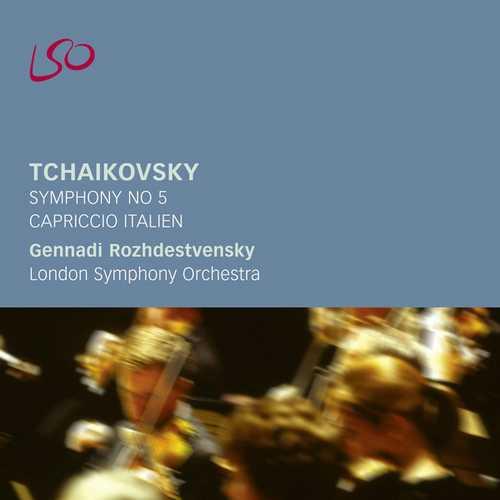 Rozhdestvensky: Tchaikovsky - Symphony no.5, Capriccio Italien (FLAC)