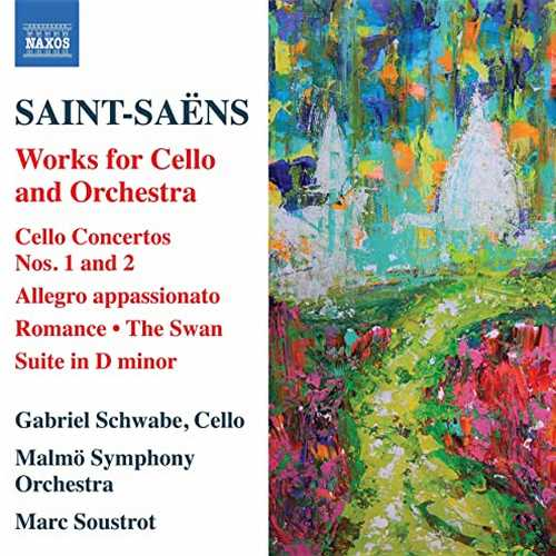 Schwabe, Soustrot: Saint-Saëns - Works for Cello and Orchestra (24/96 FLAC)