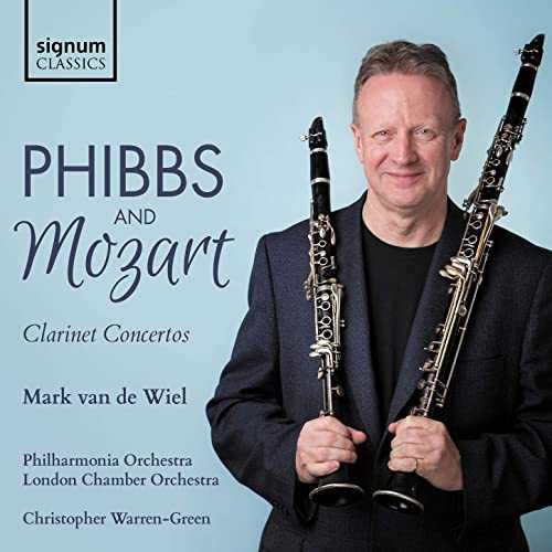 Wiel, Warren-Green: Phibbs and Mozart - Clarinet Concertos (24/48 FLAC)