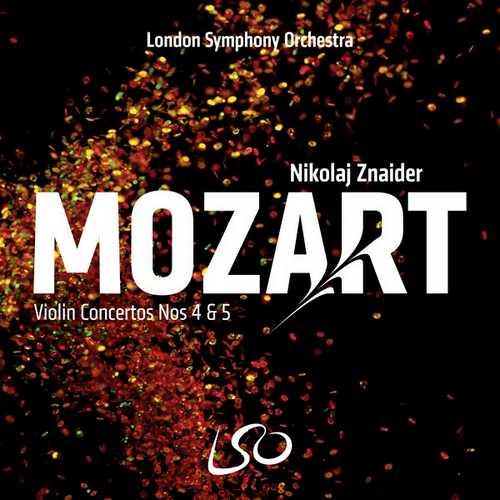 Znaider: Mozart - Violin Concertos no.4 & 5 (24/96 FLAC)