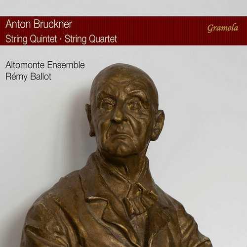 Altomonte Ensemble: Bruckner - String Quintet in F Major, String Quartet in C Minor (24/96 FLAC)