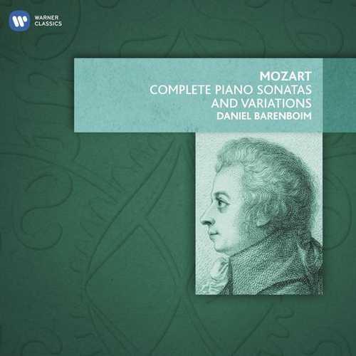 Barenboim: Mozart - Complete Piano Sonatas and Variations (FLAC)