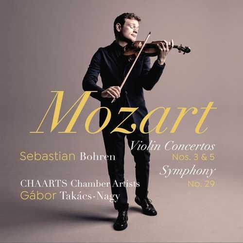 Bohren: Mozart - Violin Concertos no.3 & 5, Symphony no.29 (24/96 FLAC)