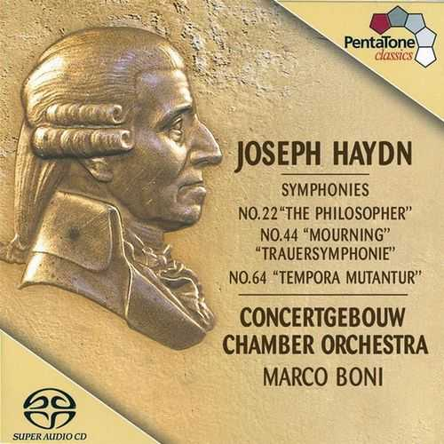 Boni: Haydn - Symphonies no.22, 44 & 64 (24/96 FLAC)