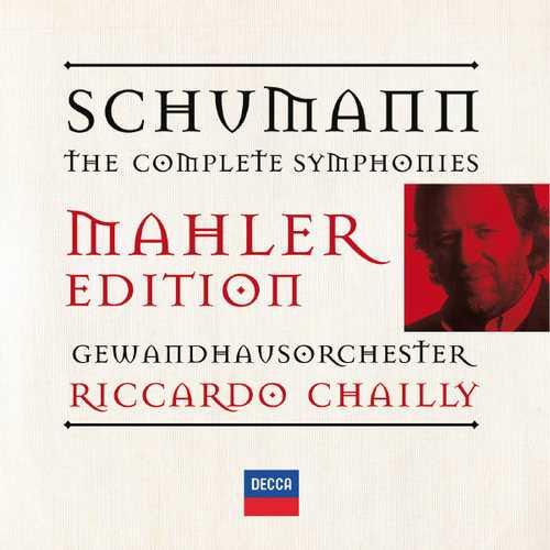 Mahler Edition. Chailly: Schumann - Symphonie no.1-4 (FLAC)