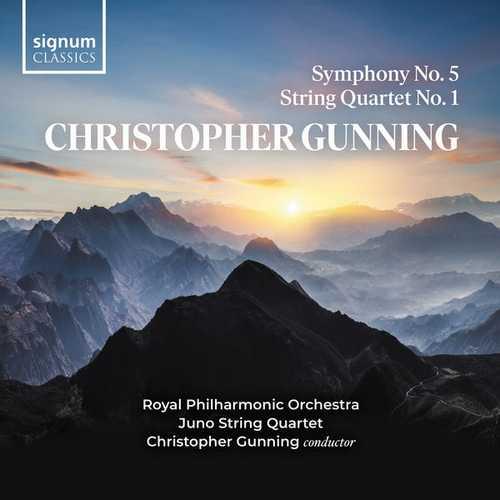 Christopher Gunning - Symphony no.5, String Quartet no.1 (FLAC)