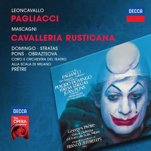 Leoncavallo - Pagliacci, Mascagni - Cavalleria Rusticana (FLAC)