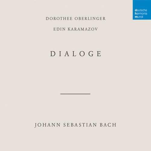 Dorothee Oberlinger, Edin Karamazov: Bach - Dialoge (24/48 FLAC)