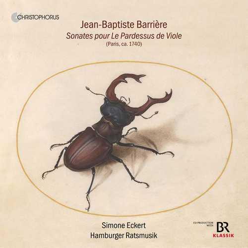 Eckert: Barrière - Sonatas pour Le Pardessus de Viole (FLAC)