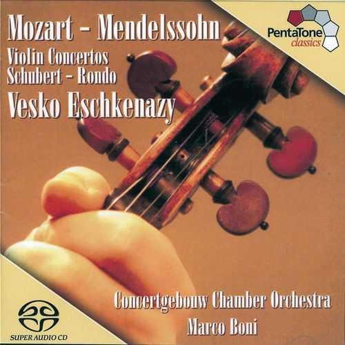 Eschkenazy, Boni: Mozart - Violin Concerto no.5. Mendelssohn - Violin Concerto (24/96 FLAC)