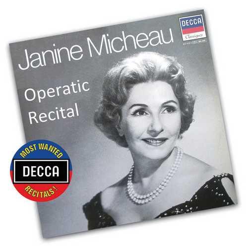 Janine Micheau - Operatic Recital (FLAC)