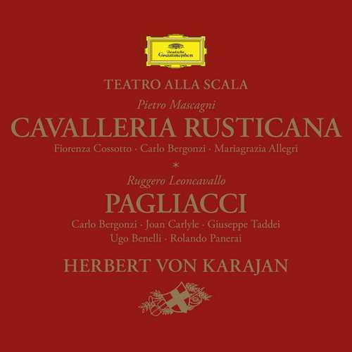 Karajan: Mascagni - Cavalleria Rusticana, Leoncavallo - Pagliacci (24/96 FLAC)