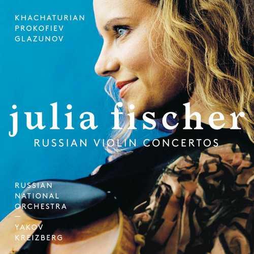 Julia Fischer - Russian Violin Concertos (24/192 FLAC)