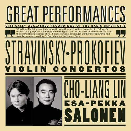 Lin, Salonen: Stravinsky, Prokofiev - Violin Concertos (FLAC)