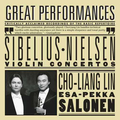 Lin, Salonen: Sibelius, Nielsen - Violin Concertos (FLAC)