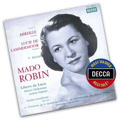 Mado Robin: Extracts from Mireille & Lucia Di Lammermoor (FLAC)