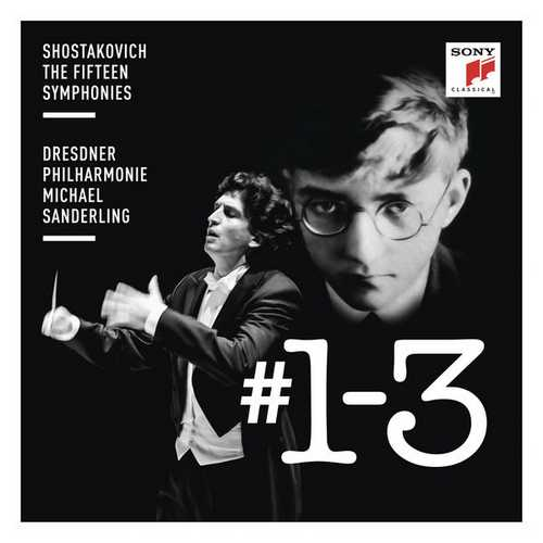 Michael Sanderling: Shostakovich - Symphonies no. 1-3 (24/96 FLAC)