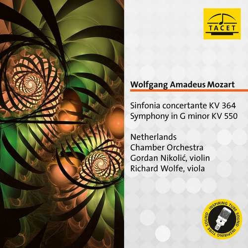 Nikolic: Mozart - Sinfonia Concertante K364, Symphony K550 (FLAC)