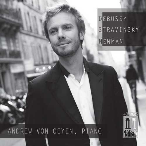 Oeyen: Debussy, Stravinsky, Newman - Piano Works (FLAC)