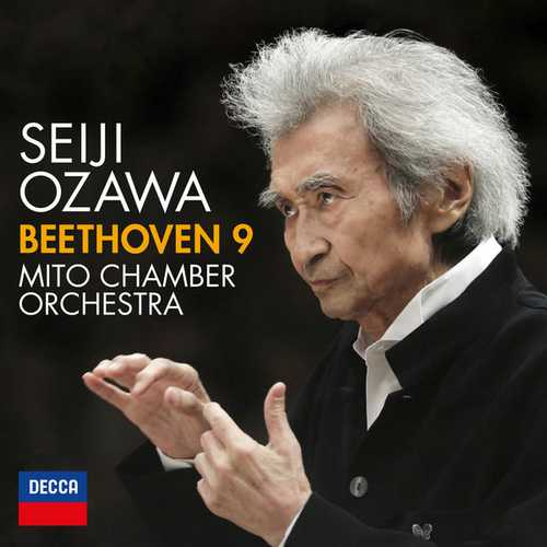 Ozawa: Beethoven - Symphony no.9. Live (24/96 FLAC)
