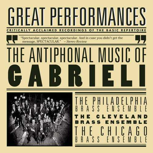 The Antiphonal Music of Gabrieli (FLAC)