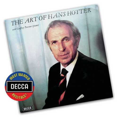 The Art Of Hans Hotter vol.1 (FLAC)