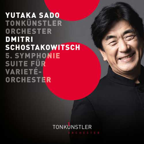 Sado: Shostakovich - Symphony no.5, Suite for Variety Orchestra (24/192 FLAC)