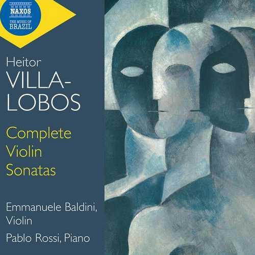 Baldini, Rossi: Villa-Lobos - Complete Violin Sonatas (24/44 FLAC)