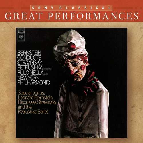 Bernstein Conducts Stravinsky - Petrouchka, Pulcinella Suite (FLAC)