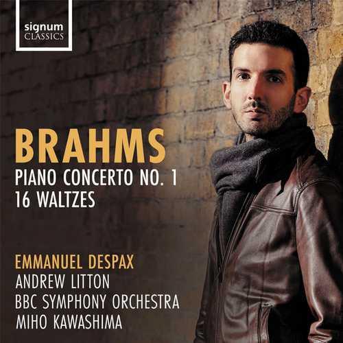 Despax: Brahms - Piano Concerto no.1, 16 Waltzes (24/96 FLAC)