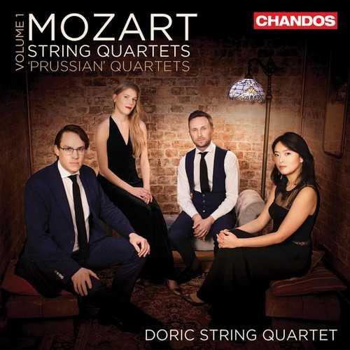 Doric String Quartet: Mozart - String Quartets vol.1. The Prussian Quartets (24/96 FLAC)