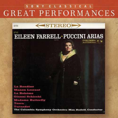 Farrell, Rudolf: Puccini Arias (FLAC)