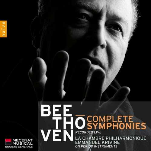 Krivine: Beethoven - Complete Symphonies Recorded Live (FLAC)