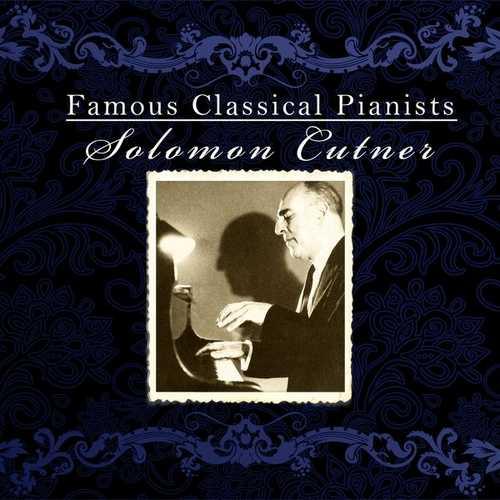 Famous Classical Pianists: Solomon Cutner (FLAC)