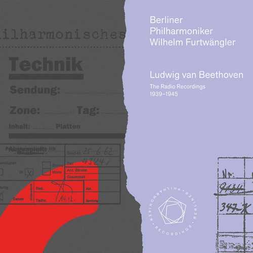 Furtwängler: Beethoven - The Radio Recordings 1939–1945 (FLAC)