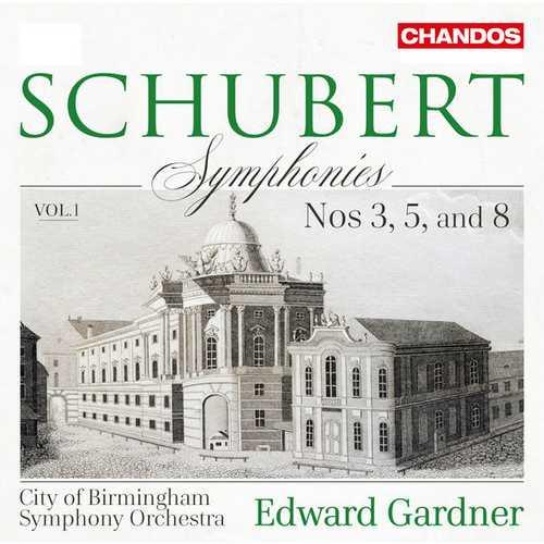 Gardner: Schubert - Symphonies no.3, 5 & 8 vol.1 (24/96 FLAC)