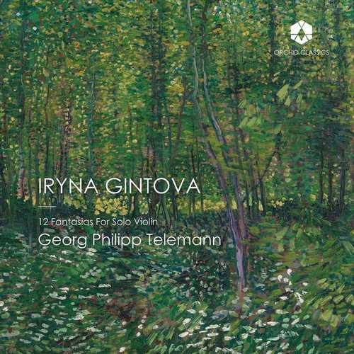 Gintova: Telemann - 12 Fantasias for Solo Violin (24/96 FLAC)